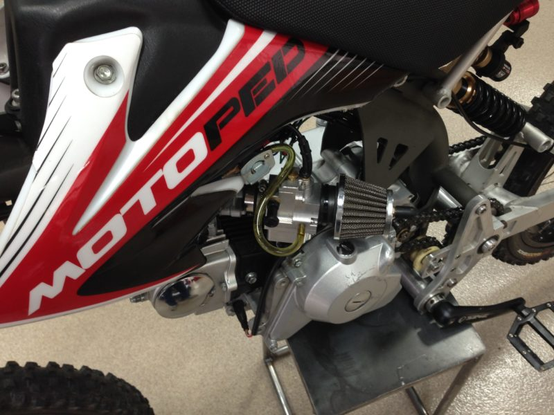 SmartCarb Equipped Motoped